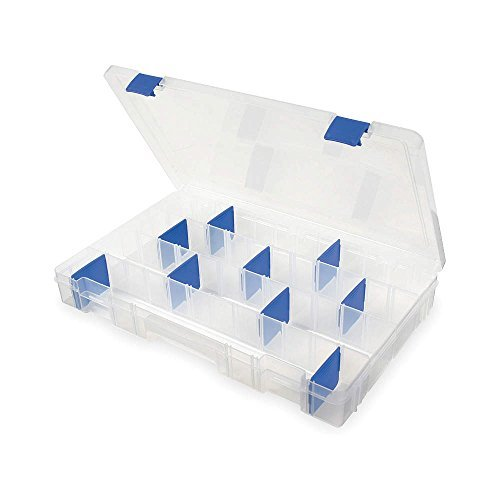 Adjustable Compartment Box, Translucent - 1 Each by Flambeau