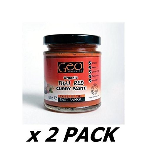 Organic Thai Red Curry Paste NAS Vegan - 180g