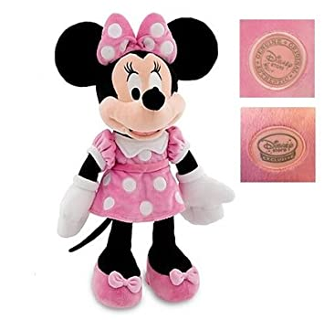 Amazon.com: Original Minnie Plush Peluche Mickey-Mouse Stuffed Animals Toy 45-48CM,Kids Toys Christmas,Birthday Gift Soft Toys for Children: Baby