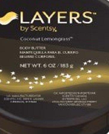 Scentsy Coconut Lemongrass Layers Body Lotion