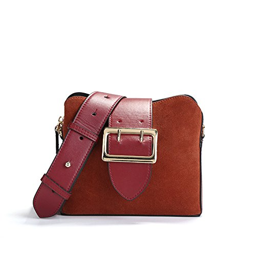 Vintage Shoulder Bag Fashion Winered Messenger Handbags Ladies Bags Casual XSfwnPqER