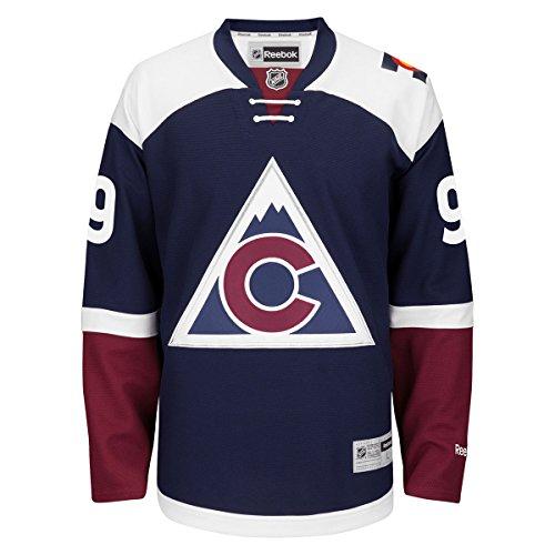 Colorado Avalanche #9 Matt Duchene Navy Alternate Reebok Premier Jersey (L)