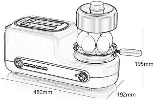 JYDQB Machine à Pain Petit-déjeuner, Machine à Pain en Acier Inoxydable, Machine à Pain aux Fruits de Noix Distributeur, Antiadhésif Pan Céramique