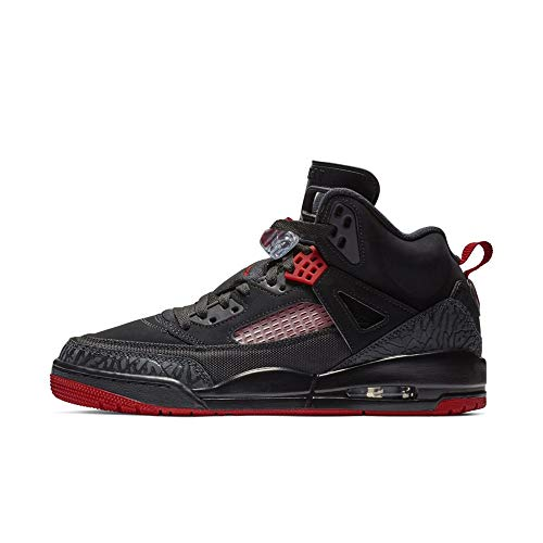 - Nike Mens Air Jordan Spizike Basketball Shoes Black/Gym Red-Anthracite 315371-006 Size 10.5