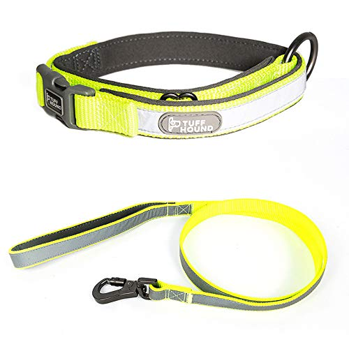 Fluorescent green suit XS Fluorescent green suit XS Dog Collar Reflective Full Collar Pet Collar Fluorescent Green Set Xs