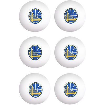 Warriors Ping Pong Balls – 6パック   B074P9KTLG