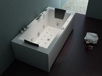 Whirlpool badewanne  Luxus Whirlpool Badewanne 182x90 im Vollausstattung (Massage ...