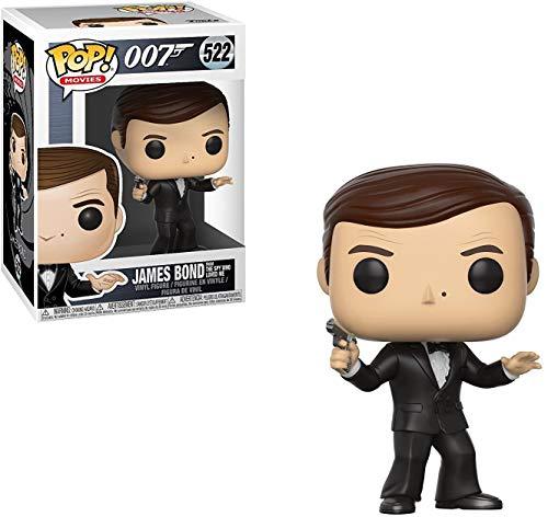 Funko Pop! Movies: James Bond Roger Moore Collectible Figure