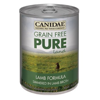Canidae Grain Free Pure Land Lamb Canned Dog Food, Case of 12, 13 oz.