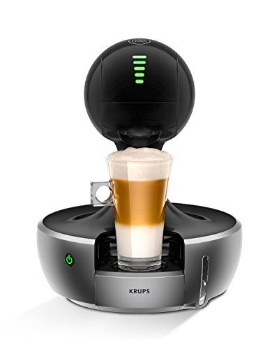 Krups KP 350B Nescafé Dolce Gusto Drop Kaffeekapselmaschine (automatisch) silber