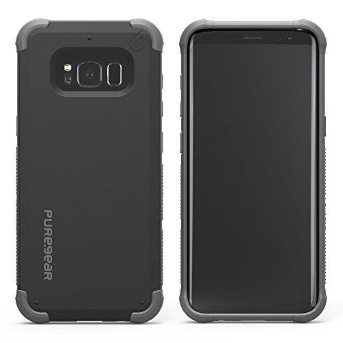 PureGear DualTek Extreme Shock Case with Pure Pledge Program for Samsung Galaxy S8+ - Black (Puregear Dualtek Extreme Shock)
