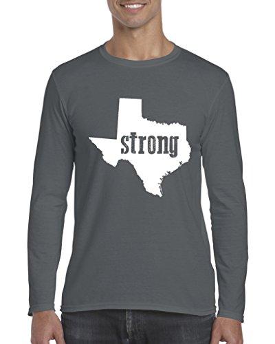 Texas T-Shirt Strong Texas Home Of Texas State University Softsyle Long Sleeve Men's T-Shirt Tee (University Of Texas Halloween Party)