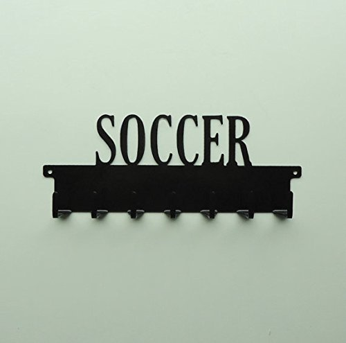 Soccer Text Medals Rack by Frog Studio Home