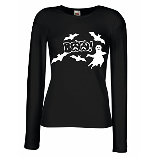 T Shirt Women BAAA! - Funny Halloween Costume Ideas, Cool Party Outfits (X-Large Black Multi Color)]()