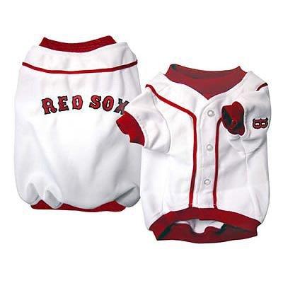 Sporty K9 Boston Red Sox Baseball Dog Jersey, X-Large, My Pet Supplies