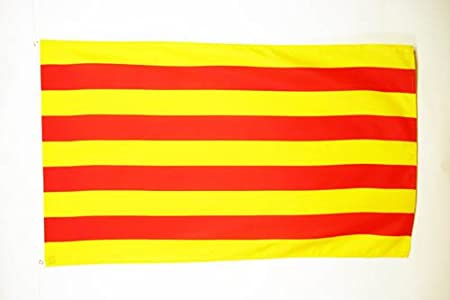 AZ FLAG Bandera de CATALUÑA 150x90cm - Bandera CATALANA - Catalunya 90 x 150 cm: Amazon.es: Hogar