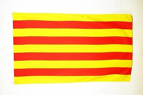AZ FLAG Bandera de CATALUÑA 90x60cm - Bandera CATALANA - Catalunya 60 x 90 cm: Amazon.es: Jardín