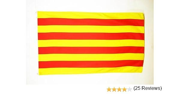 AZ FLAG Bandera de CATALUÑA 150x90cm - Bandera CATALANA ...