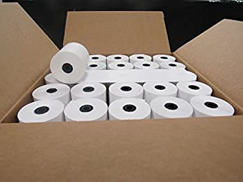 "Box of 50 Thermal Cash Register POS paper rolls 3 1/8"" x 230'"