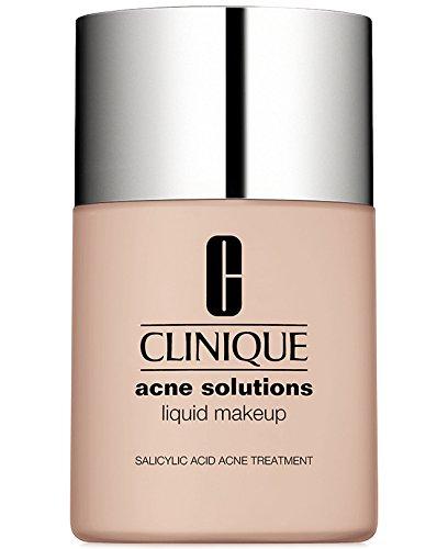 New! Clinique Acne Solutions Liquid Makeup, 1 oz / 30 ml, 01 Fresh Alabaster (01 Makeup)