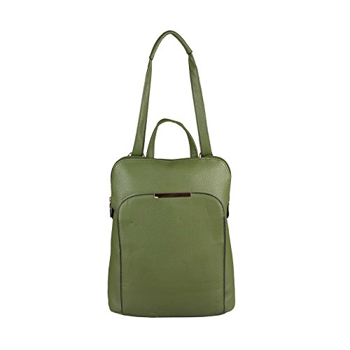 OBC Only-Beautiful-Couture - Bolso mochila  para mujer Marrón coñac ca.: 32x36x12 cm (BxHxT) verde