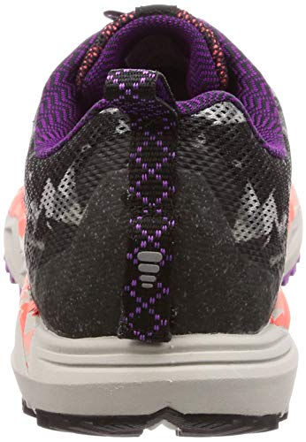 De 080 Para Negro black Caldera Running coral purple 3 Zapatillas Mujer Brooks qwTSFR1txT