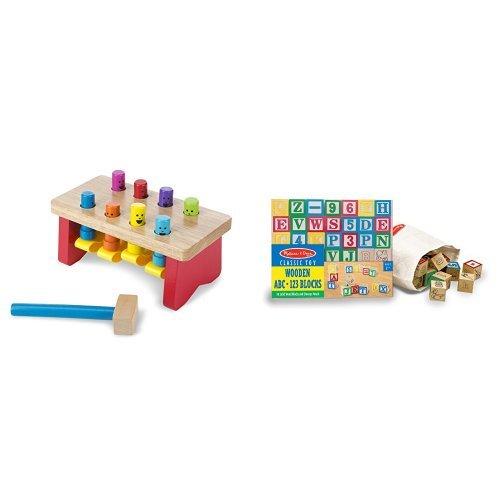 Melissa & Doug Classic Wooden Toy Bundle