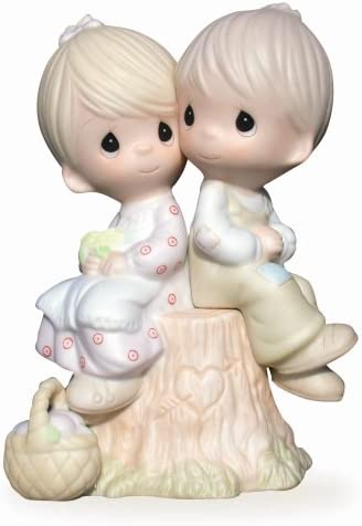 Precious Moments FRIENDS TO THE END FIGURINE Flower Friends To The End 520717