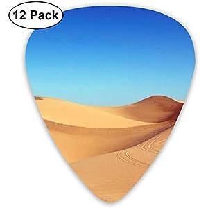 Guitar Picks Grand View der Wüste Premium Celluloid Picks12 Pack enthält dünne, mittelschwere, schwere, extra schwere…