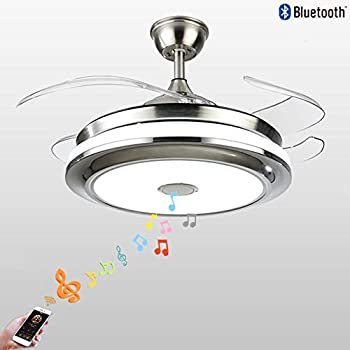 Fandian 42 Modern Ceiling Fans With Light Smart