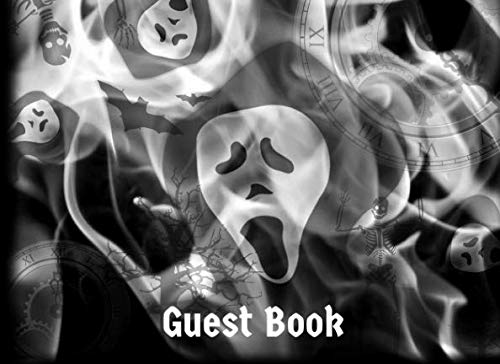 Guest Book: Scary Halloween