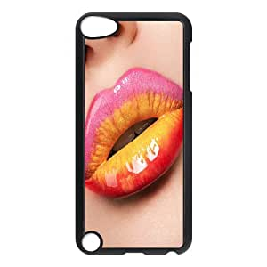 Sexy lips CHA2036981 Phone Back Case Customized Art Print Design Hard Shell Protection Ipod Touch 5