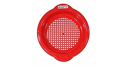 Spielstabil Small Sand Sieve - Red (Made in ()