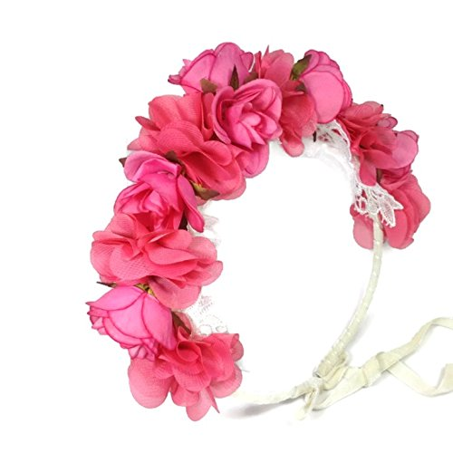 Mill Aluminum Saddle (Bridal Rose Crown Wedding Headband: S6 (PIPI))