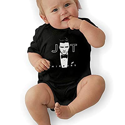Audry A Aeorge Justin Timberlake Baby Short Sleeve Bodysuits 0-24 Months Cotton Unisex