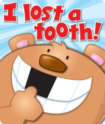 * I LOST A TOOTH STICKERS