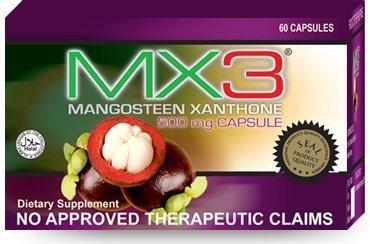 Cheap MX3 Capsule (Mangosteen Capsule) 60caps