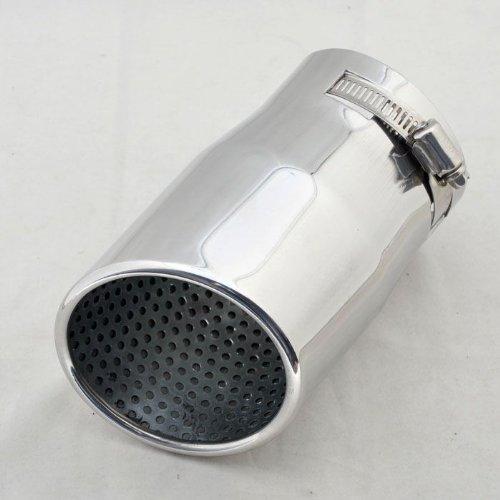 Wotefusi Stainless Steel Exhaust Muffler Tip 45-70mm Inside Dia Universal