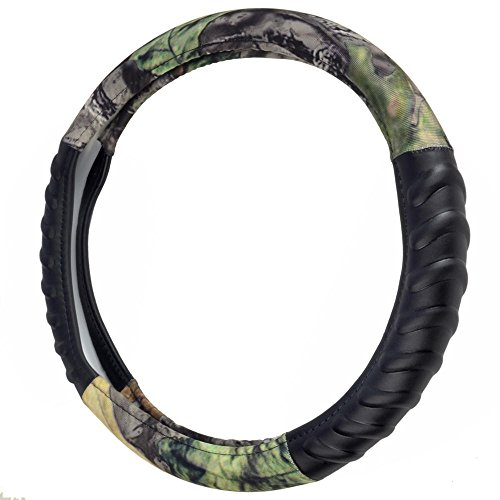 Camo Steering Wheel Cover for Car SUV - HAWG Camouflage, Odorless, BPA Free