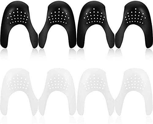 Plastic Anti-Wrinkle Shoes creases Protector Toe Box decreaser,Universal Shield Toe Box Decreaser Prevent Shoes Crease Mens 7-12//Womens 5-8 10 Pairs Shoes Shields