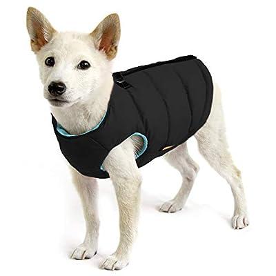 Dog jacket with safe fur zipper