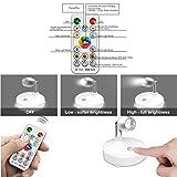 RGB Wireless Spotlight,LED Puck Light, LED Accent