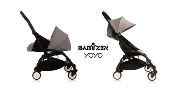 Amazon.com: Bebé Zen Yoyo 0 + y 6 +, Color negro y gris: Baby