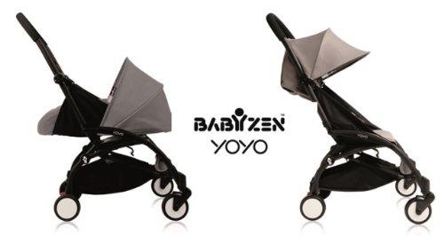 Baby Zen YoYo 0 and 6 Black Grey