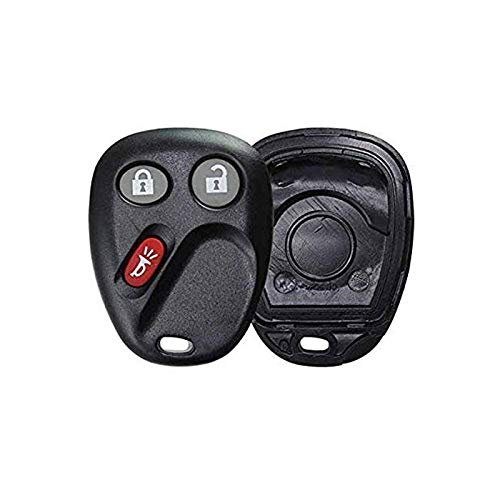 CanadaAutomotiveSupply © - 1 New Keyless Entry 3 Button Remote Car Key Fob SHELL for Select GM SATURN HUMMER Vehicles LHJ011