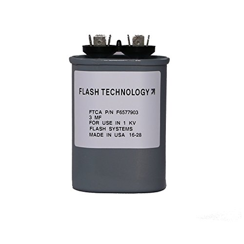 Flash Technology - Tower Lighting Tuning Capacitor (3 uF) for Aviation Obstruction Lighting System