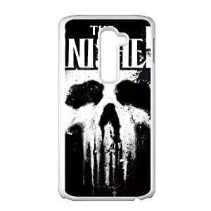 LG G2 Cell Phone Case White The Punisher G3Z2HX