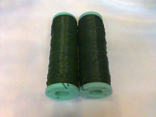 24 Gauge 1/2 Lb Spool Wire Green. 2 Spool for $15.00