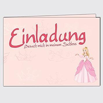 Children S Birthday Party Invitation Cards Princess Din