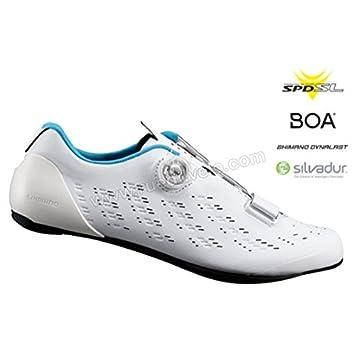 SHIMANO SHRP9PC370SW00 - Zapatillas Ciclismo, 37, Blanco, Hombre: Amazon.es: Deportes y aire libre